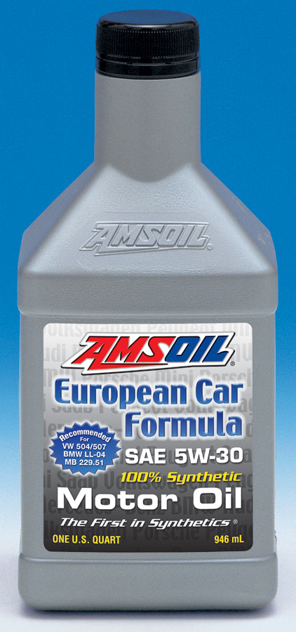 ael AMSOIL Official Press Release:  European Car Formula 5W 30 Synthetic Motor Oil